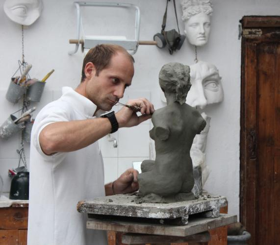 Personal Tour With The Sculptor Raffaello Romanelli