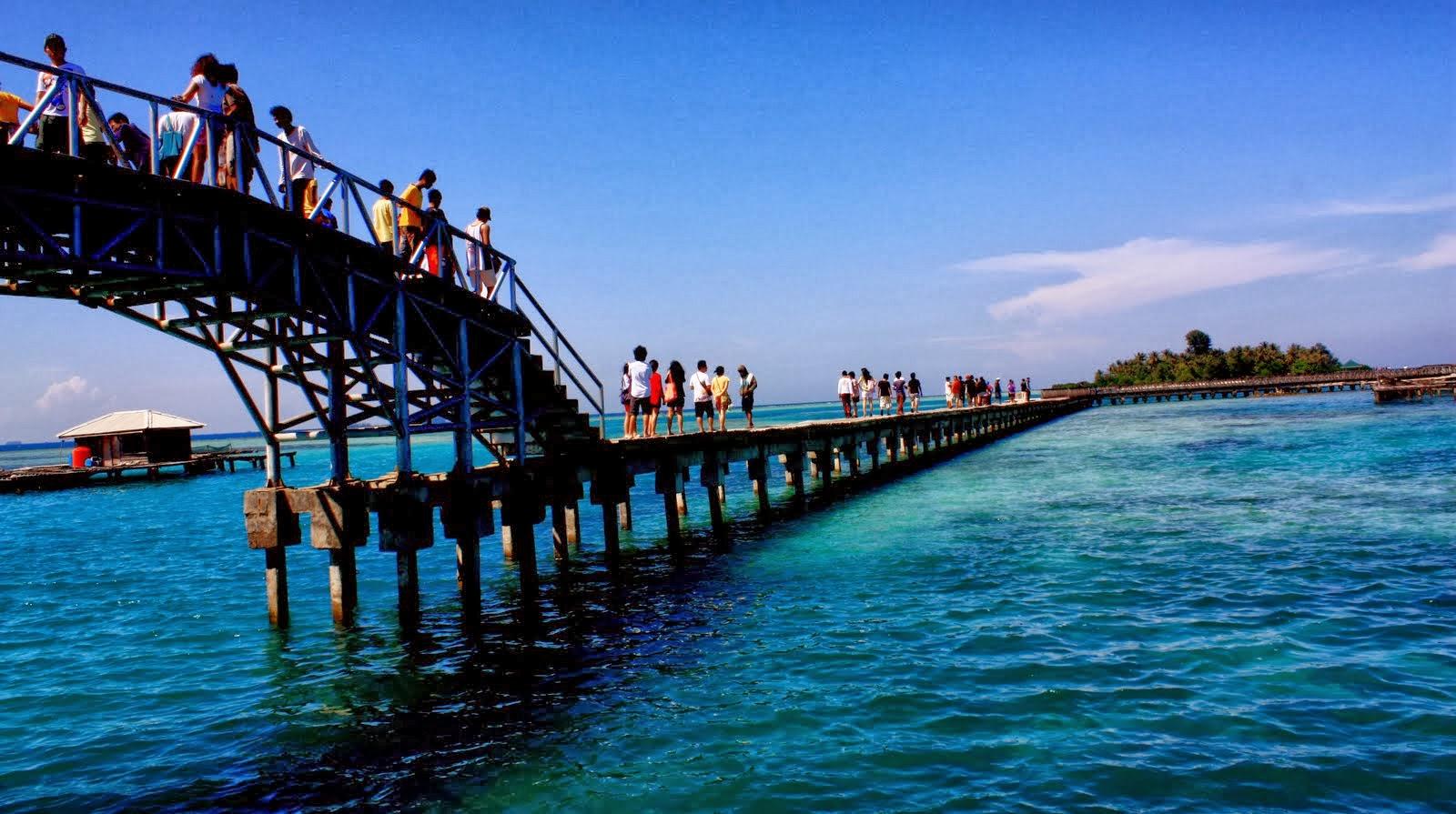 Get away from traffic at Pulau Tidung, Kepulauan Seribu ...